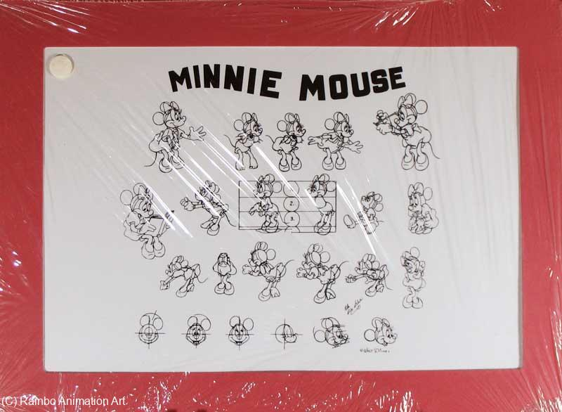 minnie mouse model sheet disney model sheets. Black Bedroom Furniture Sets. Home Design Ideas