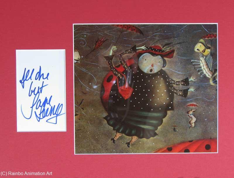 Jane Leeves Autograph 0358a James And The Giant Peach