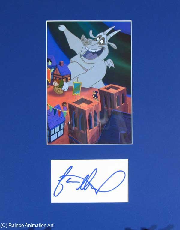 Jason Alexander Autograph Voice Of Hugo The Gargoyle