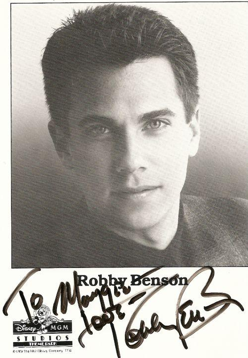 Robby Benson as The Beast Autograph image
