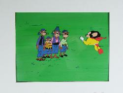 Animation Cels From Television image
