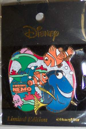 Finding Nemo Limited Edition Pin - JAPAN image