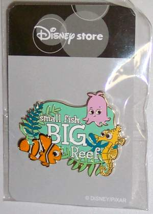 Finding Nemo Big Reef Ltd. Ed. Pin - JAPAN