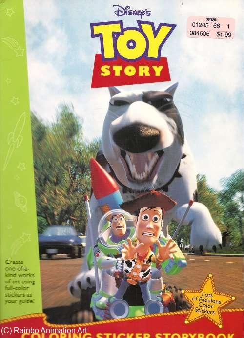 Toy Story Coloring Sticker Book 2 Toy Story Collectibles