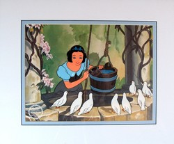 Snow White at the Wishing Well Sericel image