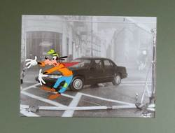 Goofy Chevy Commercial Production Cel image
