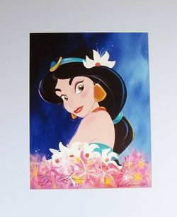 Princess Jasmine Disney Gallery Print image
