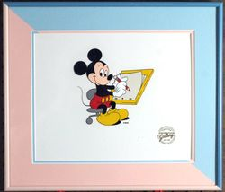 1st Edition 1989 Disney/MGM Animation Gallery Cel