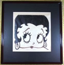 Betty Boop Original Pen and Ink image