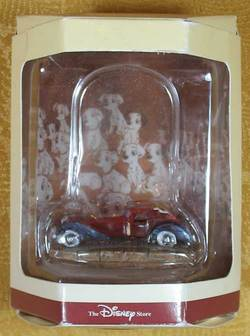 Cruella de Vil's Limosine Tiny Kingdom Figure