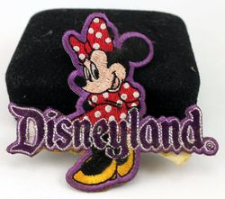 Disneyland Minnie Mouse Cloth Patch image