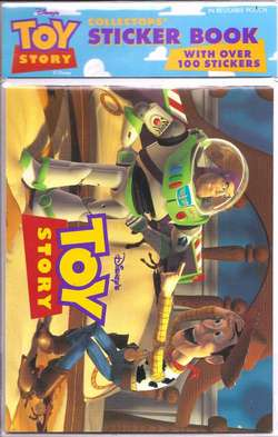 Toy Story Sticker Book image