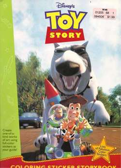 Toy Story Coloring Sticker Book #2 image
