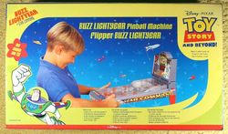 Buzz Lightyear Pinball Machine image