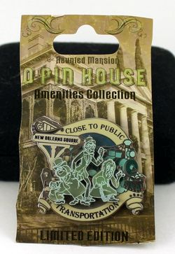 DLR Haunted Mansion 40th Ann. Event Amenties Close to Public Pin image