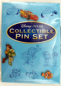 Disney/Pixar Collectible Pin Set image