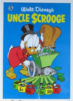 Uncle Scrooge Comic Book Cover Art 0074B image