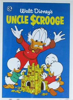 Uncle Scrooge Comic Book Cover Art 0074