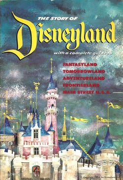 First Disneyland Guidebook 1955 image