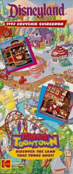 Disneyland ToonTown Opening Guidebook image
