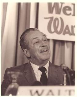 Walt Disney Publicity Photo