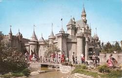Disneyland Castle Walkway Postcard image