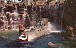 Disneyland Submarine Voyage Postcard image