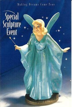 WDCC Blue Fairy Postcard image