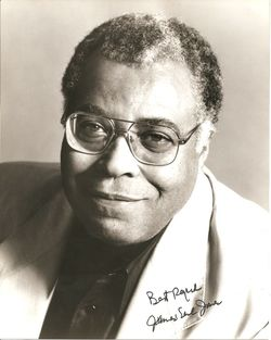 James Earl Jones Autograph Photo