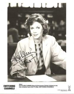 Kathleen Turner Autographed Photo - Voice of Jessica Rabbit