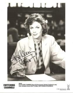 Kathleen Turner Autographed Photo - Voice of Jessica Rabbit image