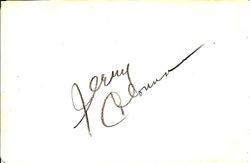 Jerry Colonna Autograph