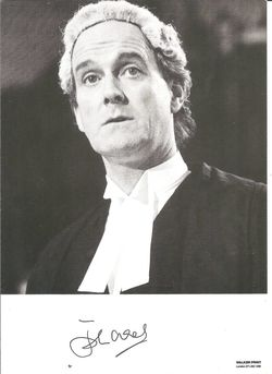 John Cleese Autograph Photo - Monty Python image