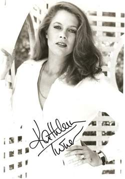 Kathleen Turner Autograph - Voice of Jessica Rabbit image