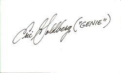 Eric Goldberg Autograph - Disney Animator