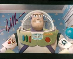 Tim Allen Autograph Buzz Lightyear Photo image