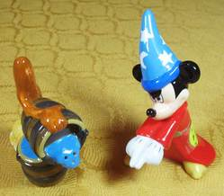 Sorcerer Mickey Salt and Pepper Figure Set image