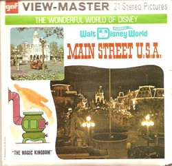 Walt Disney World Main Street Viewmaster Set A947