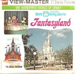Walt Disney World Fantasyland Viewmaster Set A948