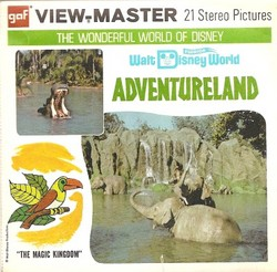 Walt Disney World Adventureland Viewmaster Set A949