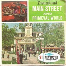 Disneyland Main Street & Primeval World View-Master image