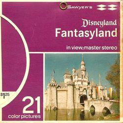 Disneyland Fantasyland View-Master Set A178 Series S5