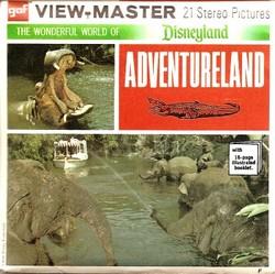 Disneyland Adventureland Viewmaster Set A177