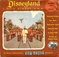 Disneyland Main Street View-Master Set 851