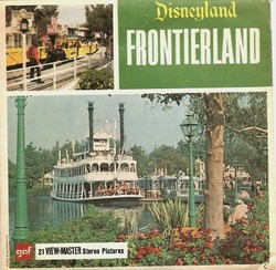 Disneyland Frontierland View-Master A176 image