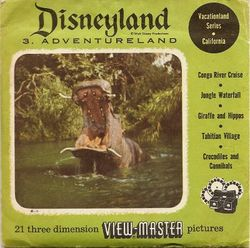 Disneyland Adventureland View-Master Set 853 image