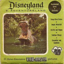 Disneyland Adventureland View-Master Set 853