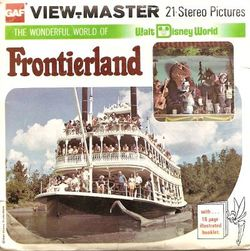 Walt Disney World Frontierland View-Master H22