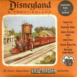 Disneyland Frontierland Viewmaster Set 852