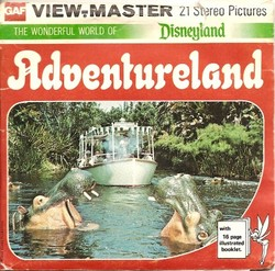 Disneyland Adventureland Viewmaster H52 image